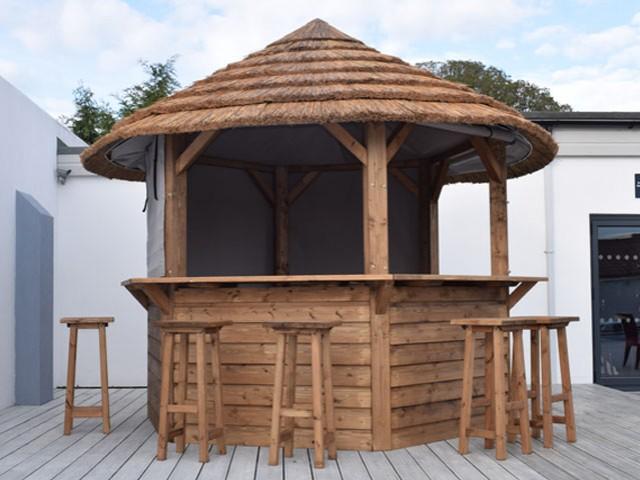 The Lapa Company Wooden Gazebos Thatched Gazebos