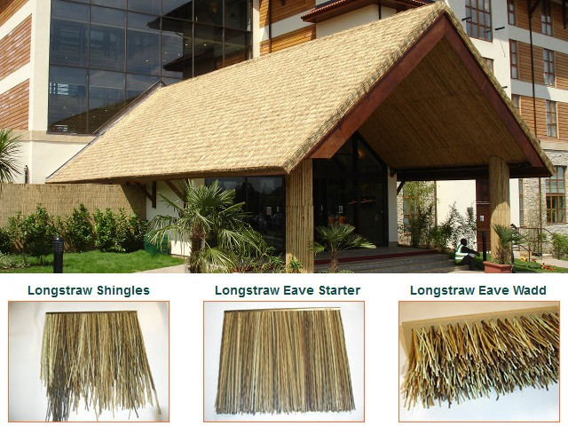 Endureed Synthetic Thatch Fire Resistant Artificial