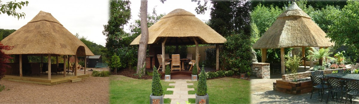 Thatched Garden Structures African Themed Garden