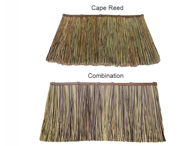 Cape Reed Thatch Tiles Thatched Tiles For Gazebos