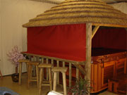 Spa Gazebo Canvas Side Panels