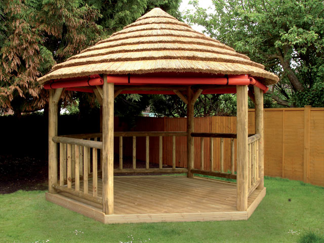 Thatched Gazebo Gallery From The Lapa Company